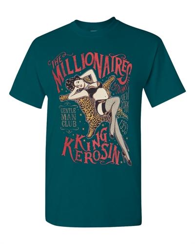 King Kerosin - The Millionaires, T-Shirt blau