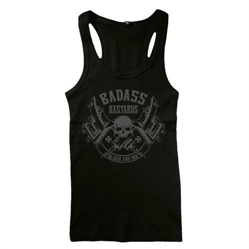 Badass Bastards - Blood & Ink, Muskelshirt