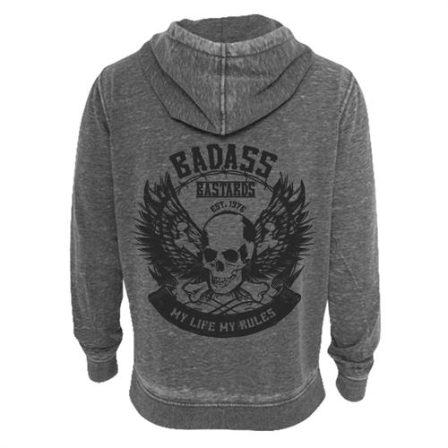 Badass Bastards - My Life My Rules, Kapuzenjacke