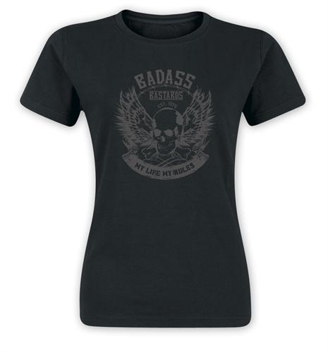 Badass Bastards - My Life My Rules, Girl-Shirt