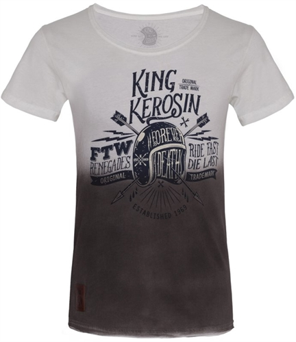 King Kerosin - Ride Fast Die Last, T-Shirt schwarz