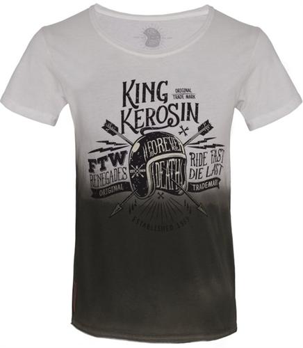 King Kerosin - Ride Fast Die Last, T-Shirt oliv