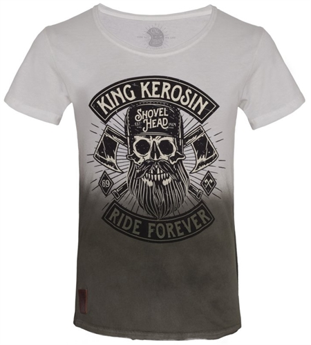 King Kerosin - Lumberjack, T-Shirt oliv