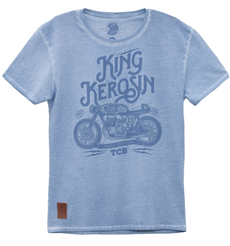 King Kerosin - TCB, T-Shirt blau