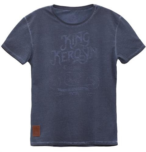 King Kerosin - TCB, T-Shirt navy