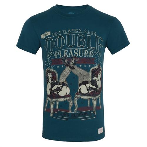 King Kerosin - Double Pleasure, T-Shirt blau