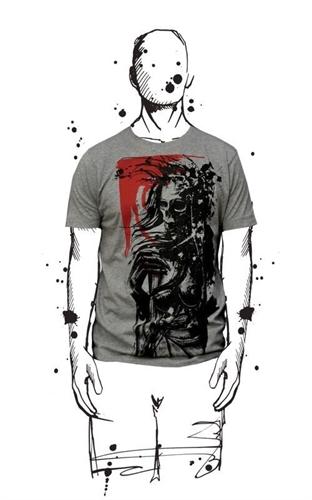 Amoklines - Misery, T-Shirt
