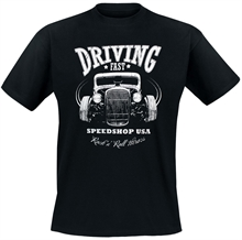 Rock n Roll Heroes - Driving Fast, T-Shirt