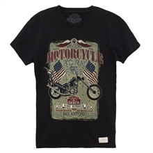 King Kerosin - Born To Be Free, T-Shirt schwarz