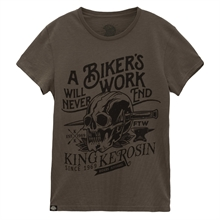King Kerosin - Bikers Work, T-Shirt