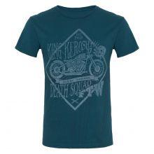 King Kerosin - Death Squad, T-Shirt blau