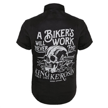 King Kerosin - Bikers Work, Worker-Shirt Hemd