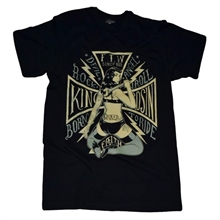 King Kerosin - Born To Ride, T-Shirt