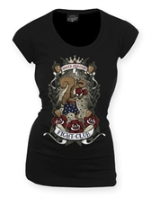 Queen Kerosin - Fight Club, Girl-Shirt