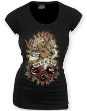 Queen Kerosin - Born To Be Wild, Girl-Shirt