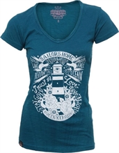 Queen Kerosin - Sailors Home, Vintage-Girl-Shirt