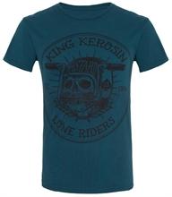 King Kerosin - Lone Riders, T-Shirt blau