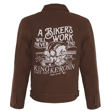 King Kerosin - Bikers Work Vintage-Canvas-Jacket
