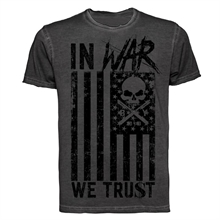 Badly - In War We Trust, Vintage T-Shirt