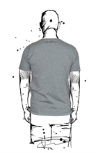 Amoklines - Sketch Skull, T-Shirt