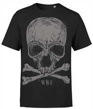BadAss Bastards - Skull, T-Shirt